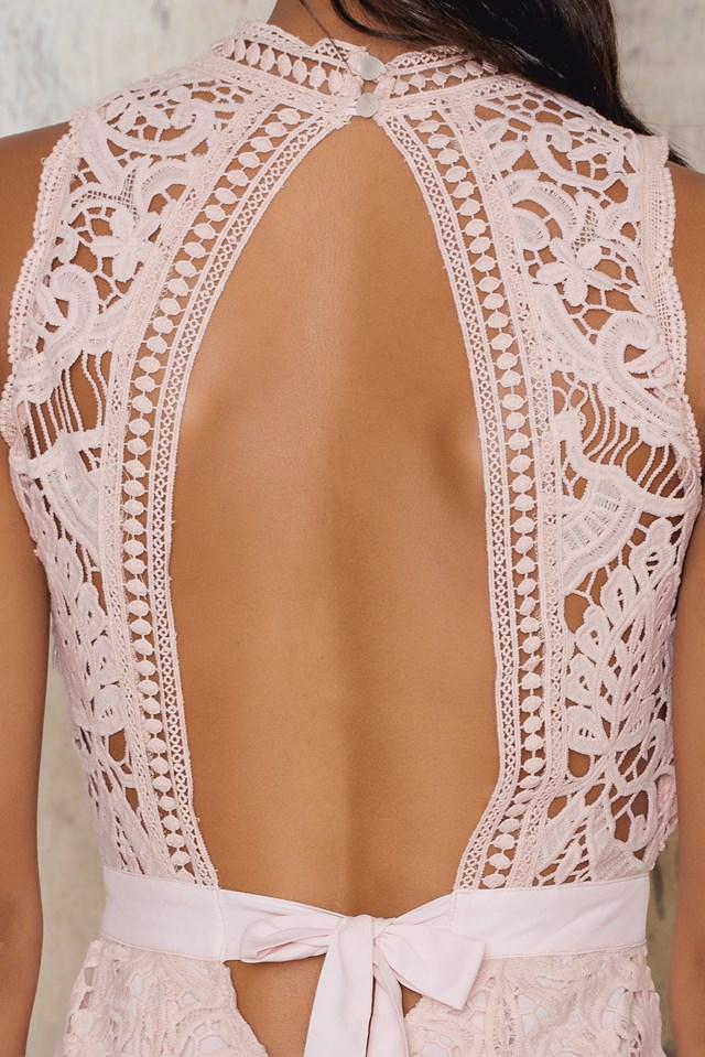 Marcella Midi Dress Blush