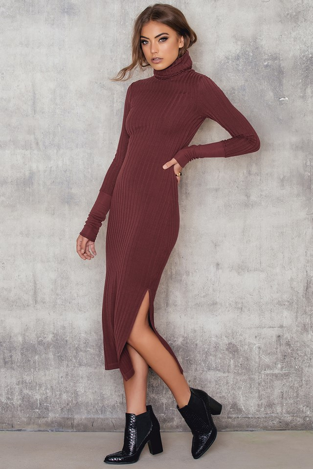 Lesley Dress Chocolate Truffle