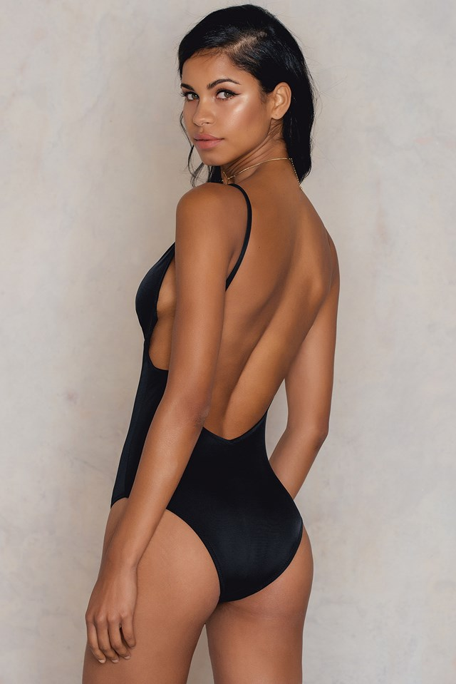 Siyah Swimsuit Black
