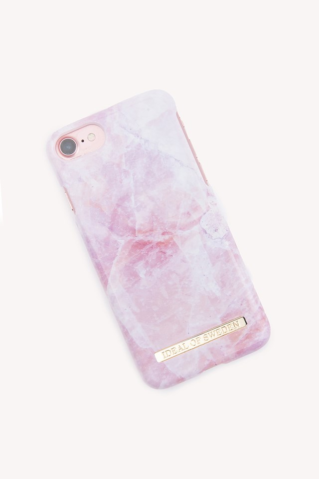 Pink Pilion Marble iPhone 6/7/8 Case Pink Pilion Marble