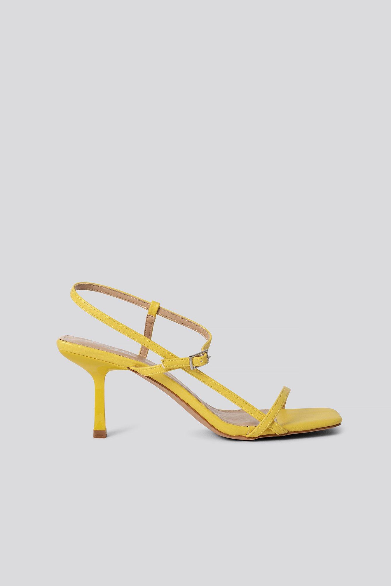 raid -  Sandalen - Yellow