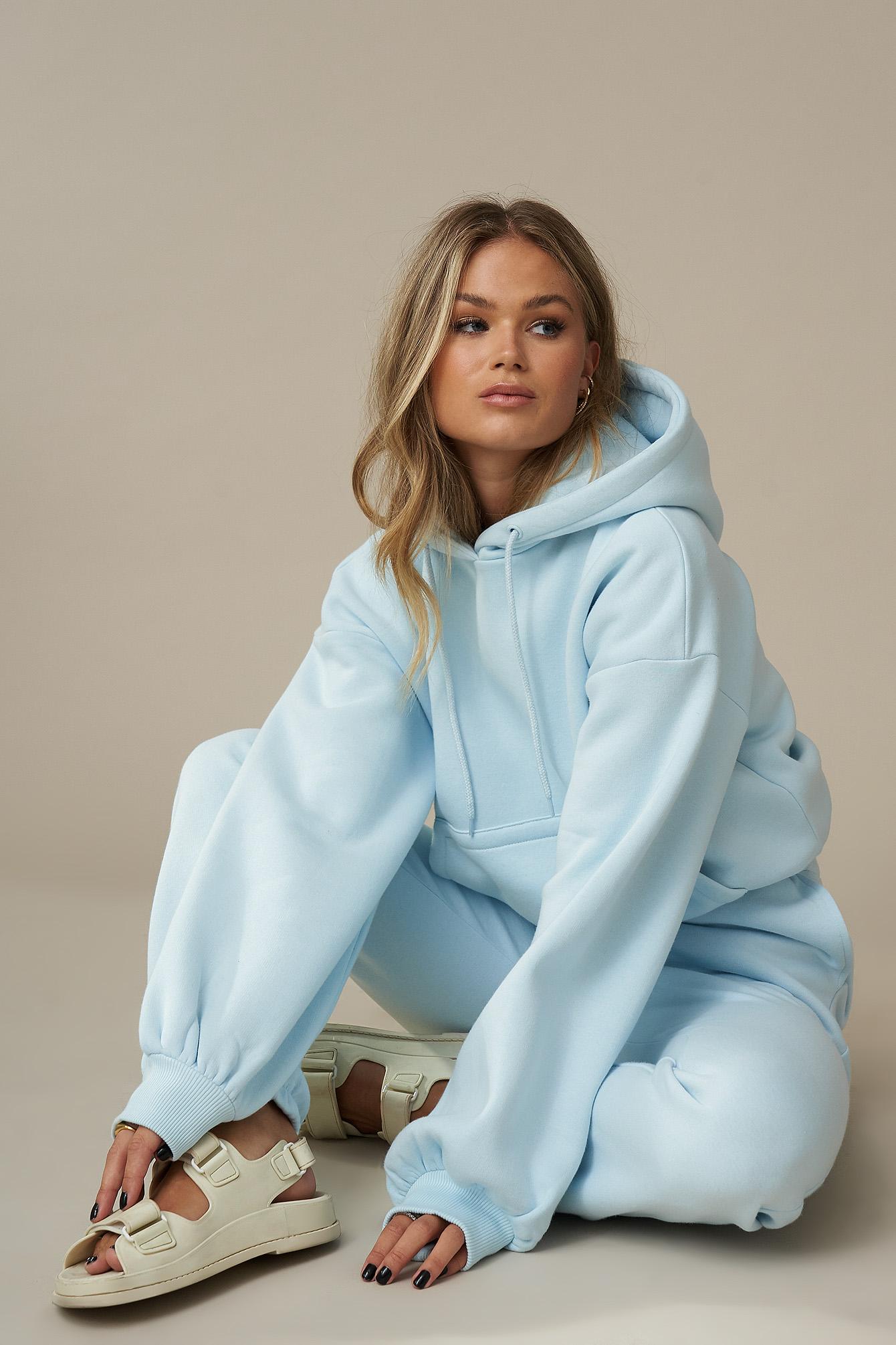 Puff Sleeve Denim Jacket Blue | na-kd.com