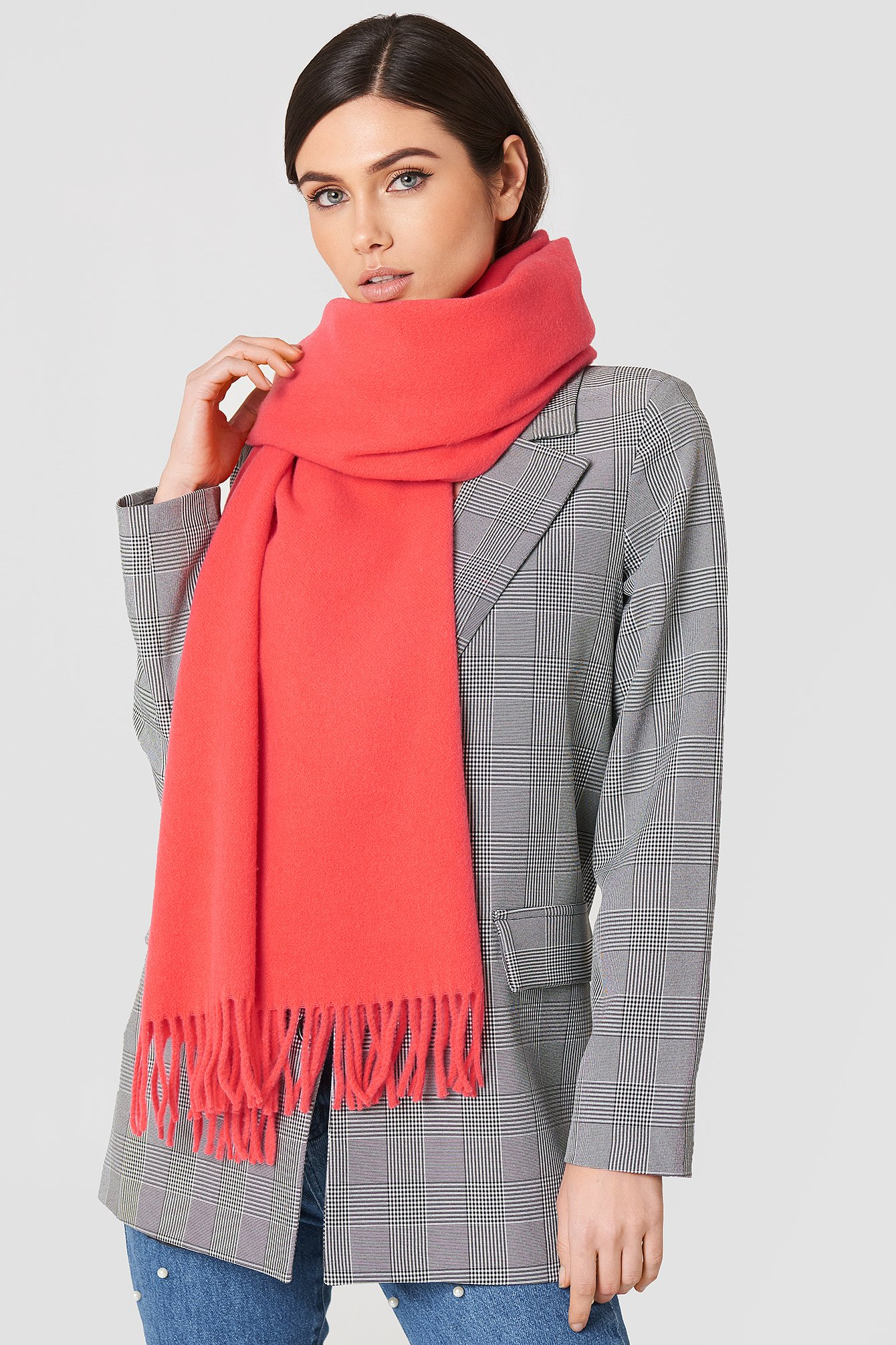 HARMONY SCARF - RED
