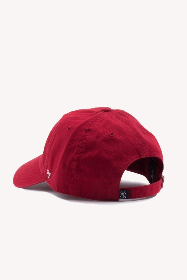 New York Clean Up Cap Red