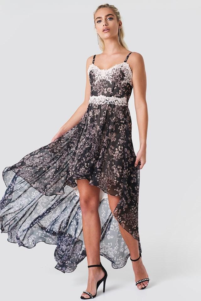 Grace Dress Dk Multi
