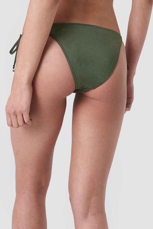 Altea Tai Cord Bikini Bottom Army