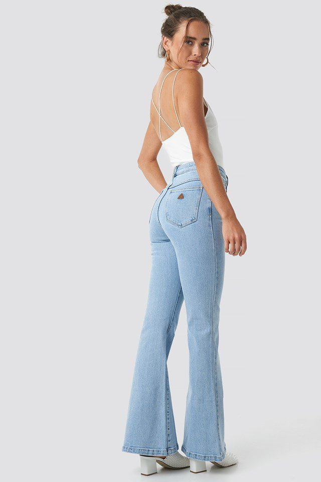 A Double Oh Flare Jeans Walk Away