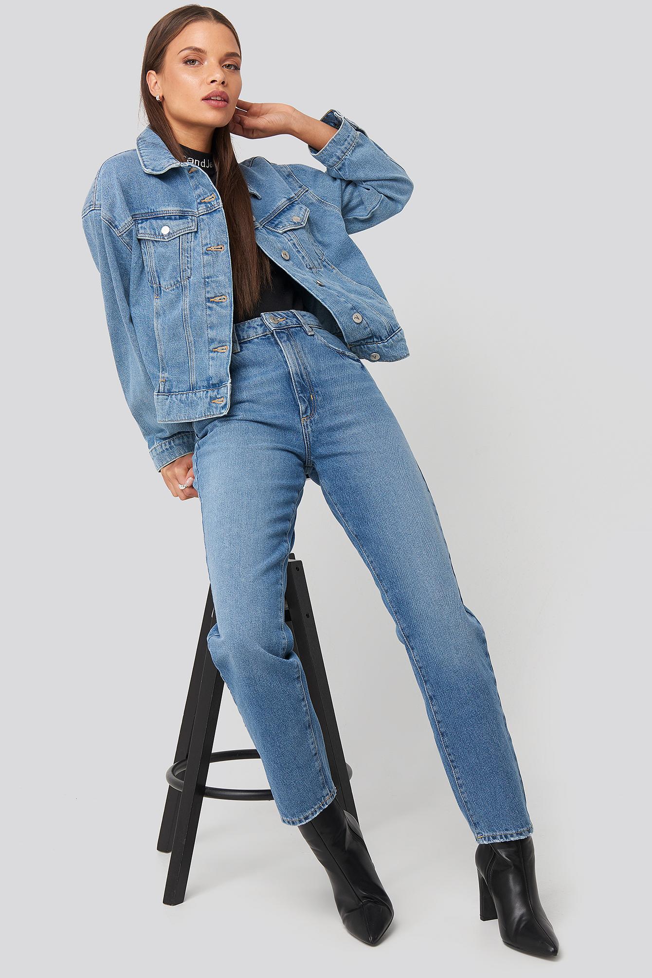 abrand -  A 94 High Slim Jeans - Blue