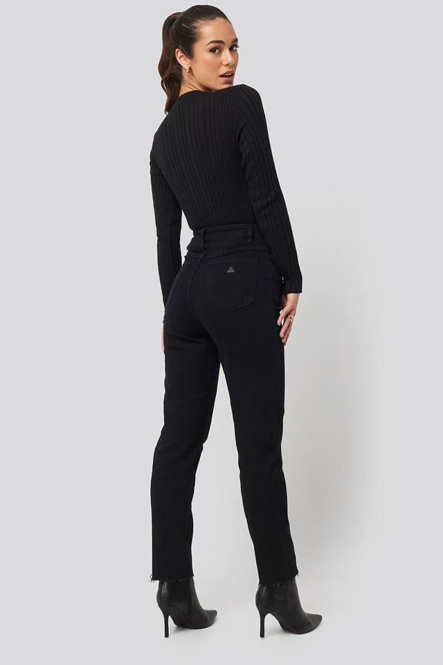 A 94 High Slim Jeans Dead Of Night