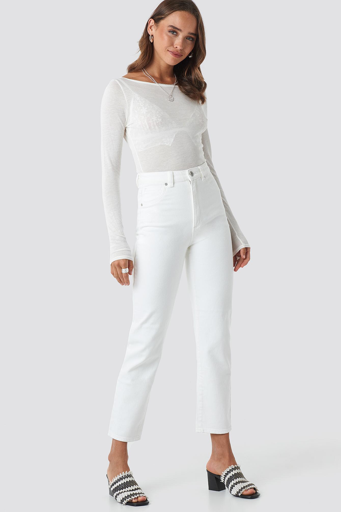 A 94 High Slim Jeans NA-KD.COM