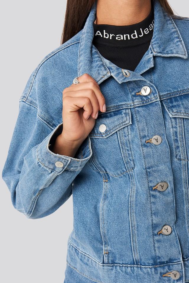 A Bonnie Denim Jacket Josephine Blue