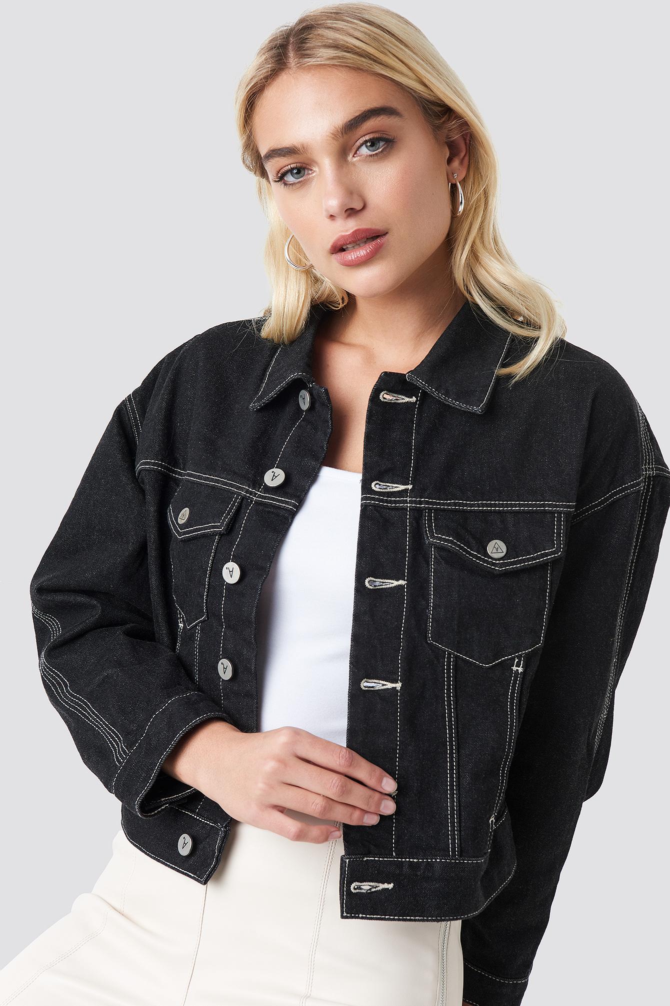 A Bonnie Denim Jacket NA-KD.COM