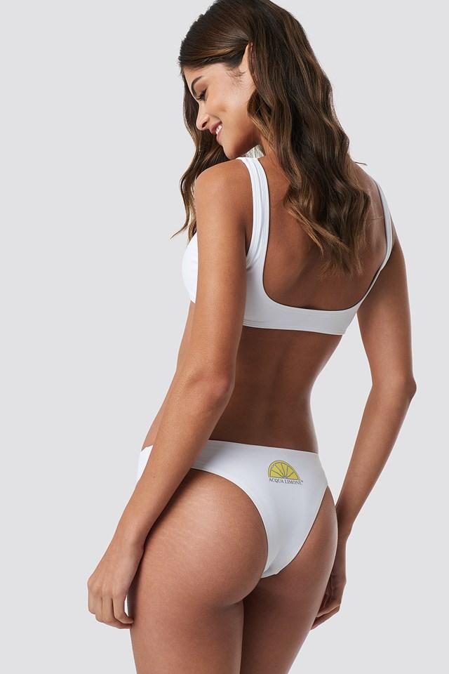 Juan Le Pins Bikini Top White