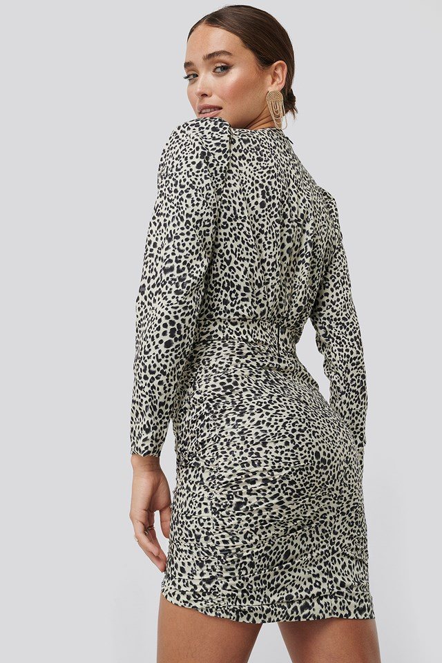 Slyther Dress Animal Print