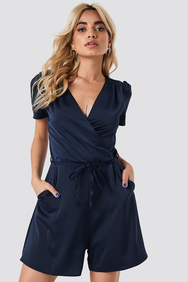 Luna Playsuit Navy