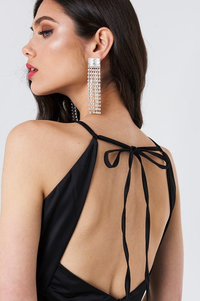 Nora Midi Dress Black