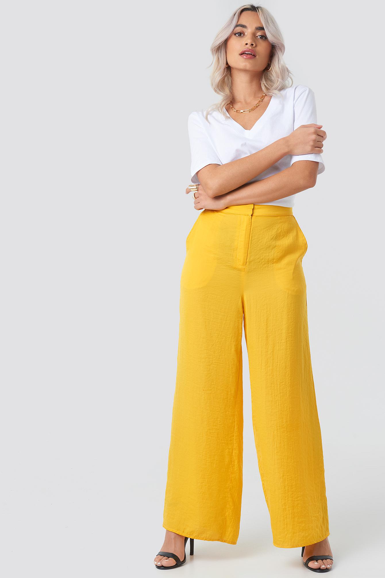 Billede af Aéryne Paris Adeline Trousers - Yellow