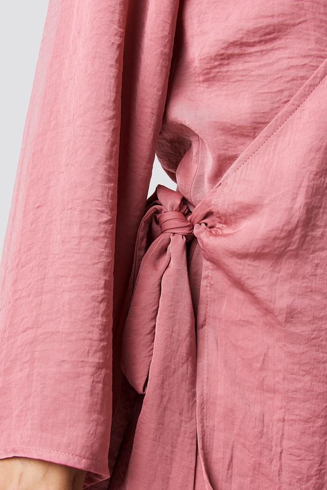 Lauryn Dress Rose Foncé