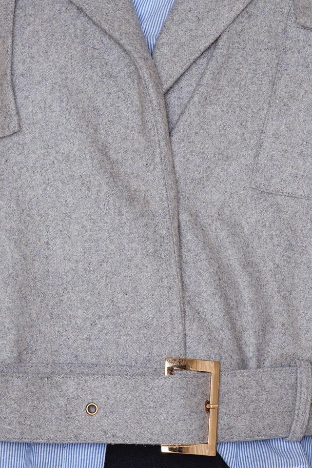 Lola Jacket Grey Melange