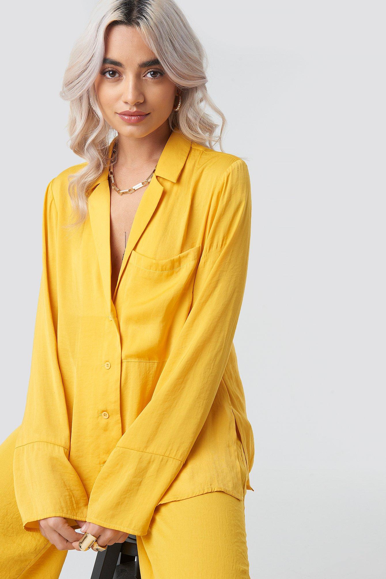 Billede af Aéryne Paris Luna Shirt - Yellow
