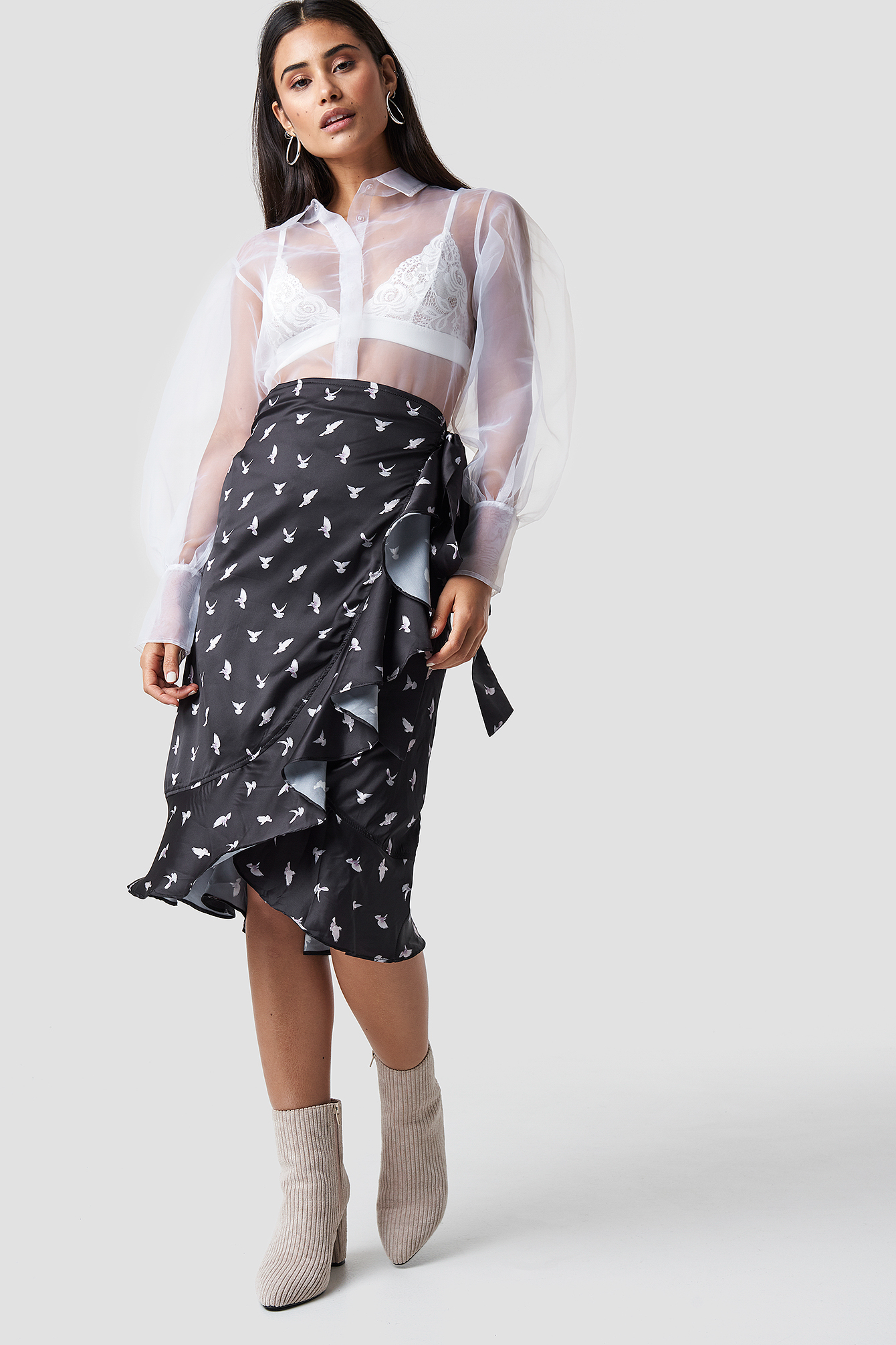 Mellie Skirt NA-KD.COM