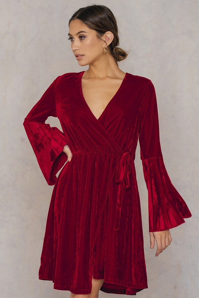 Mave Dress Warm Red