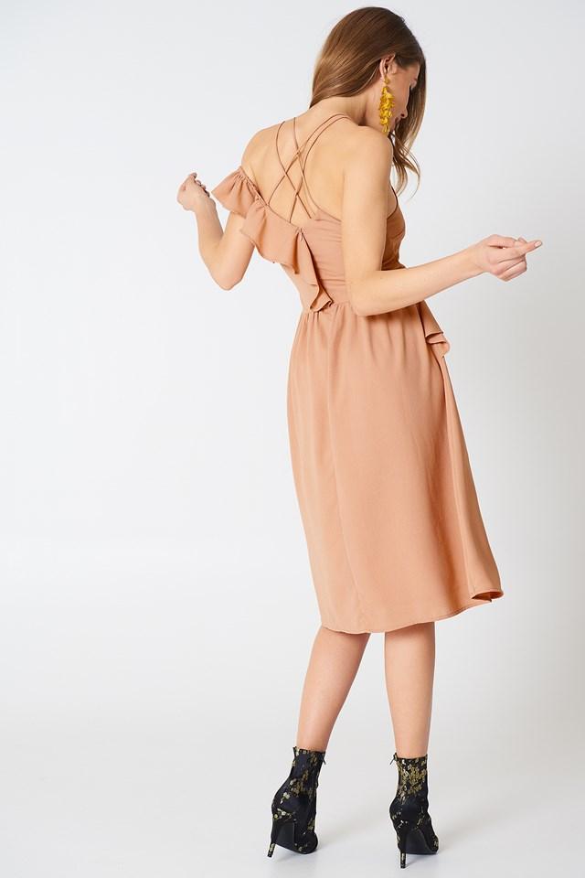 Mila Dress Light Mauve