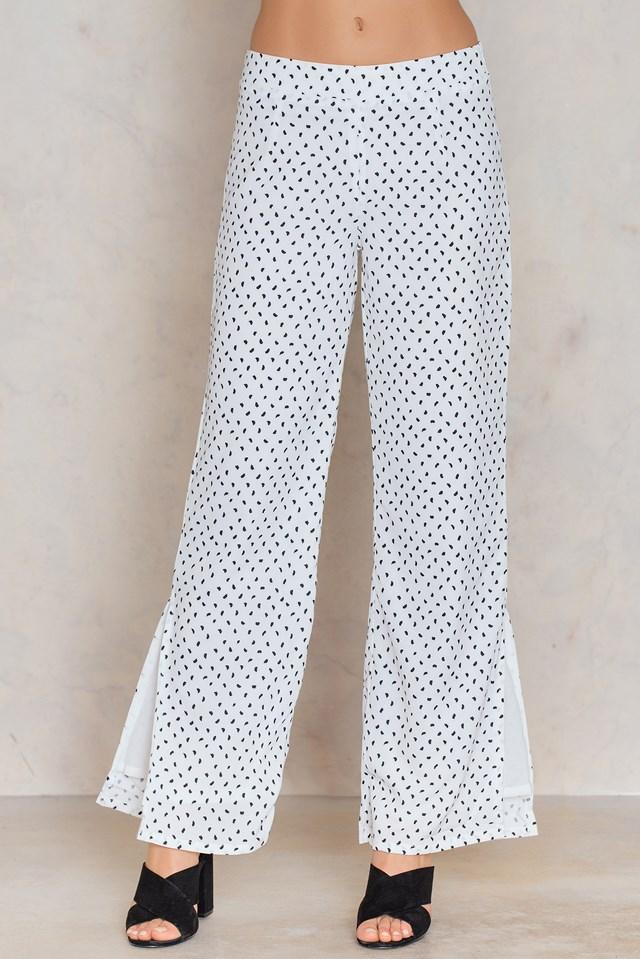 Odys Trousers Black/White