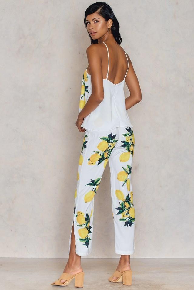 Omni Jumpsuit White