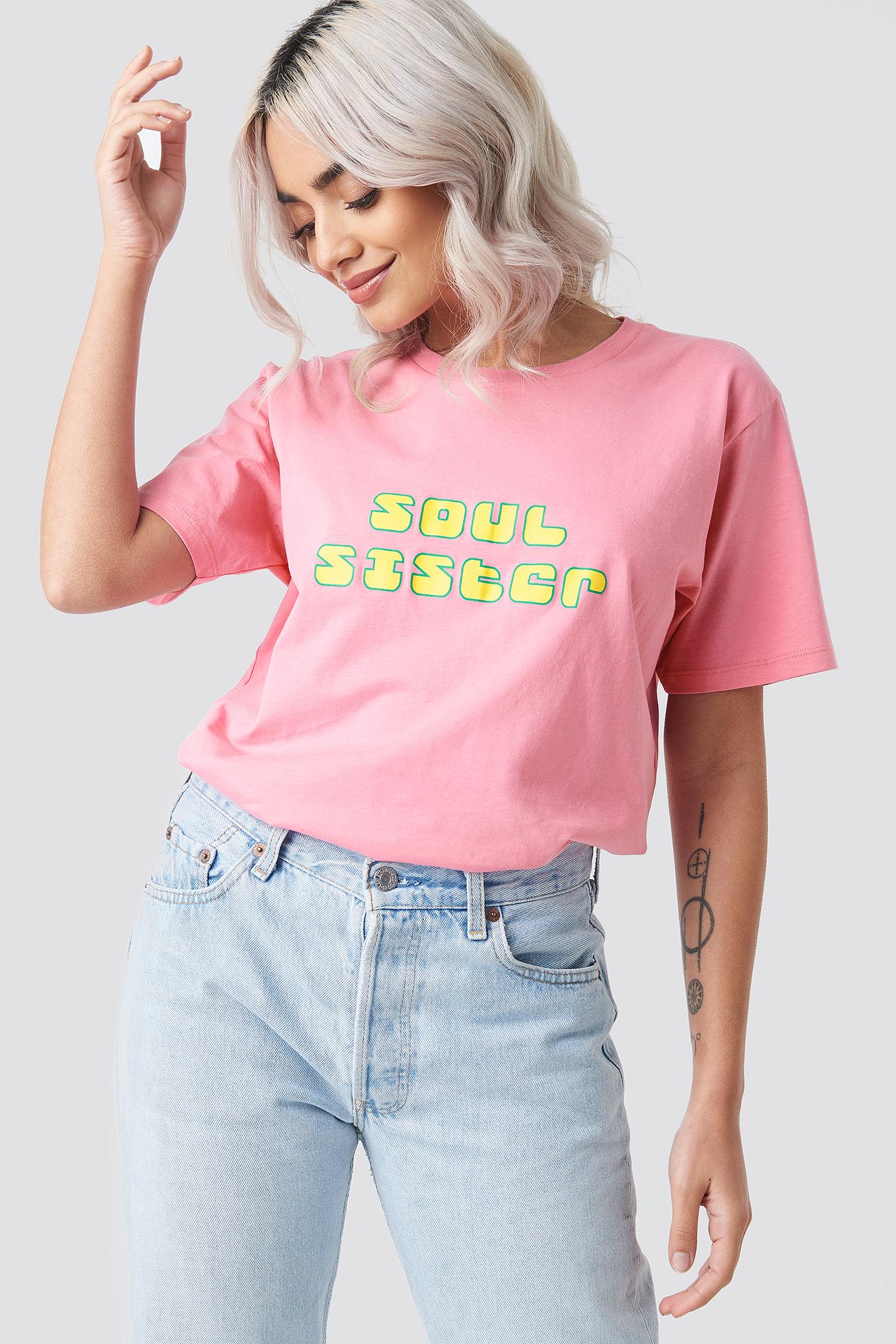 aéryne paris -  Soul Tee - Pink