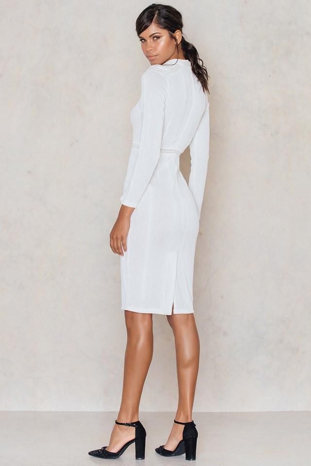 Kiwa Dress White