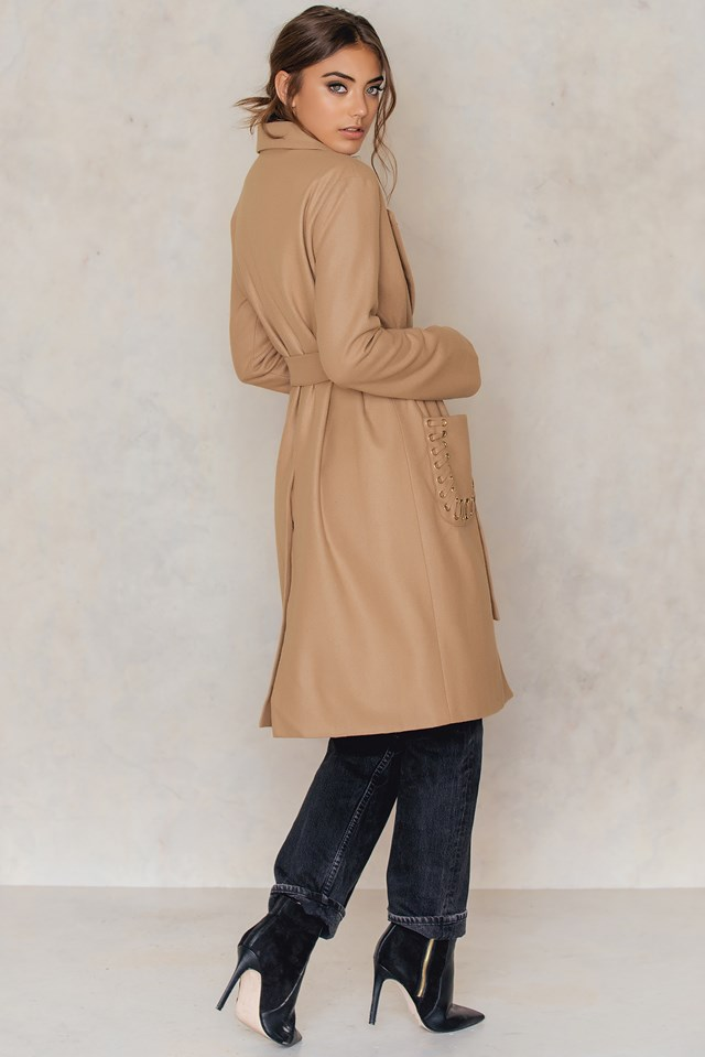 Saki Coat toffee