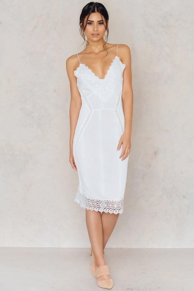 Sen Dress White
