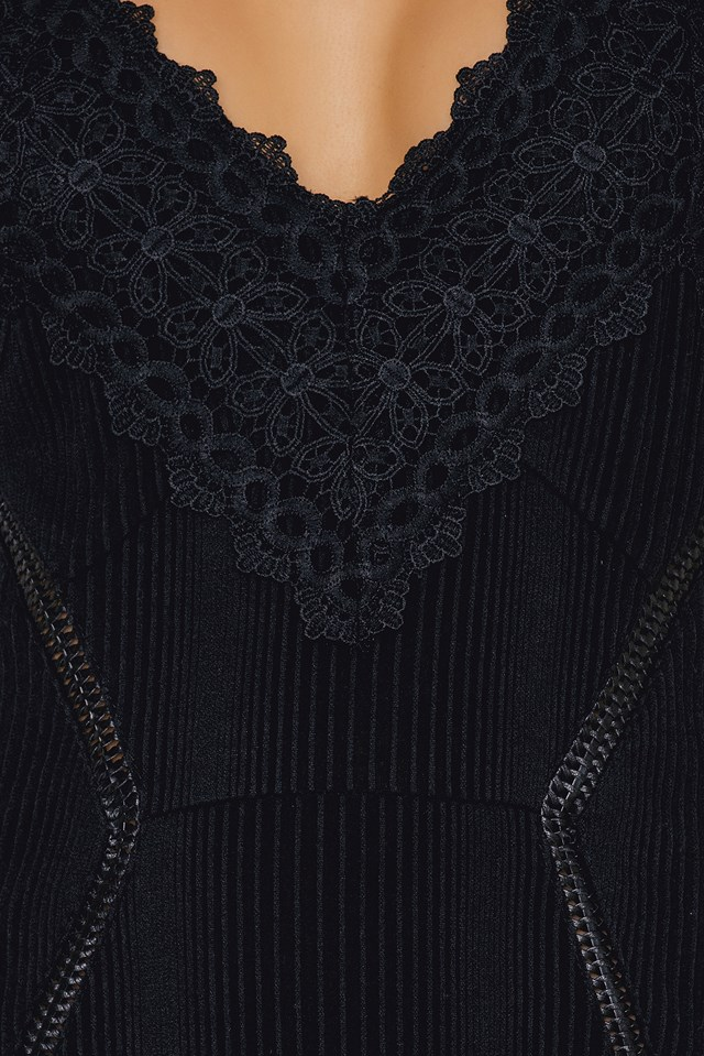 Sen Dress Black