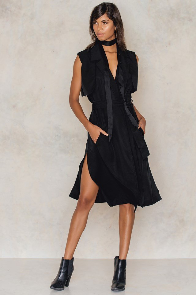 Yuri Dress Black