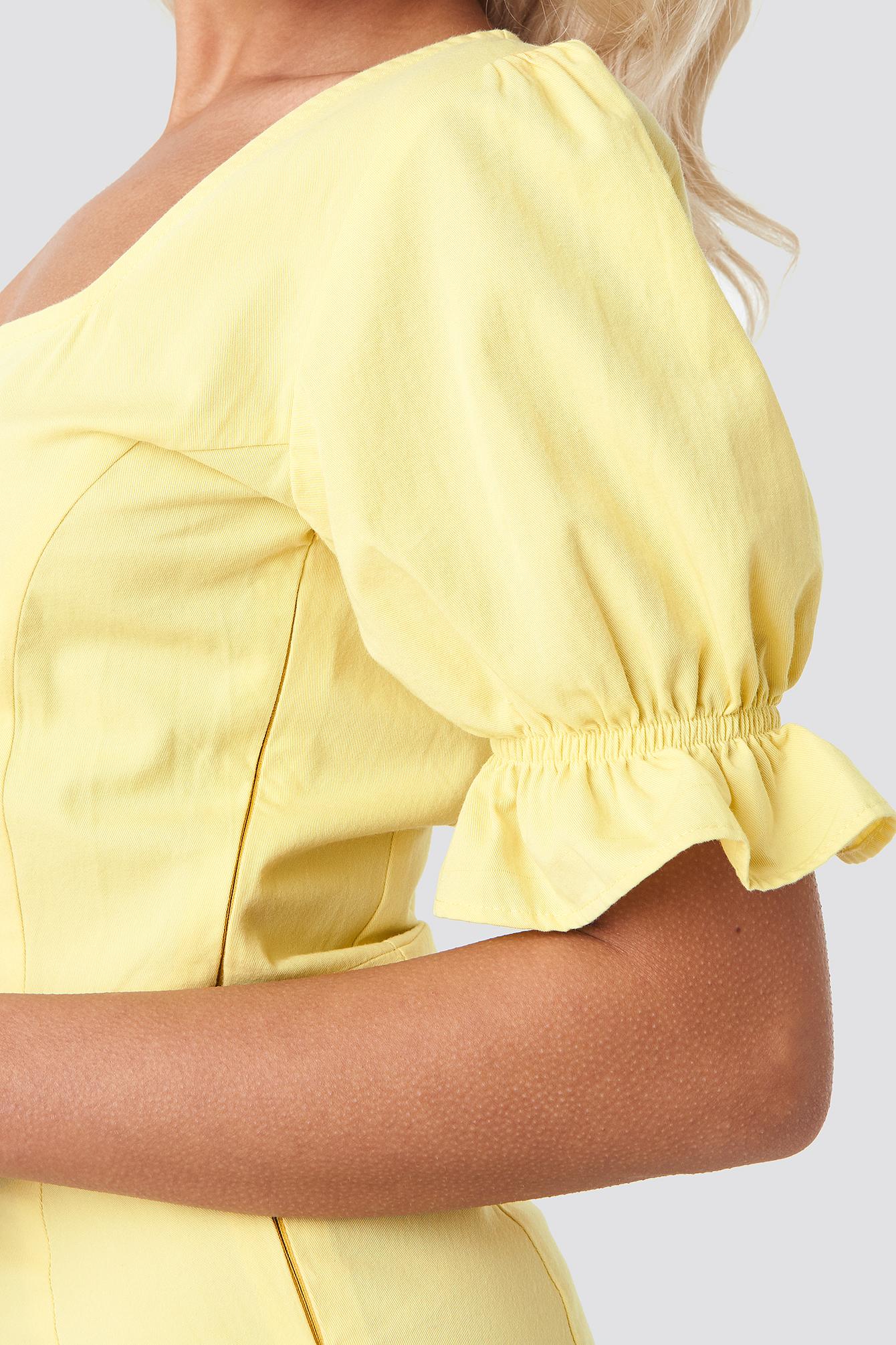 Sweetheart Mini Dress NA-KD.COM