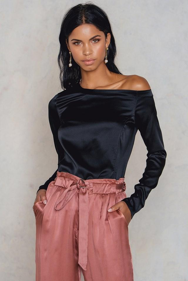 Chika Blouse Black
