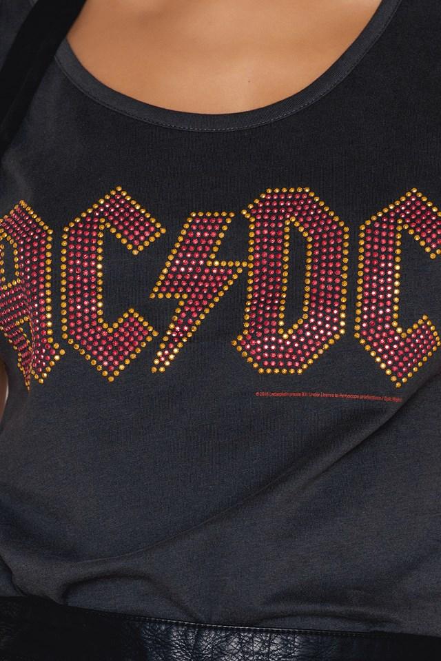 ACDC Ladies Classic Logo Top NA-KD.COM