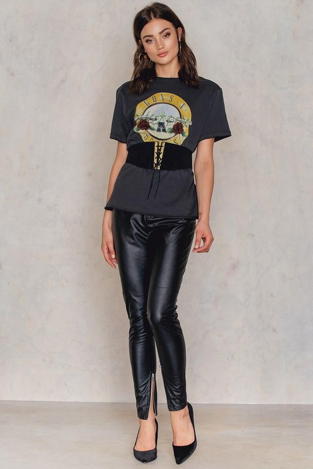 Guns N Roses Drum T-Shirt NA-KD.COM