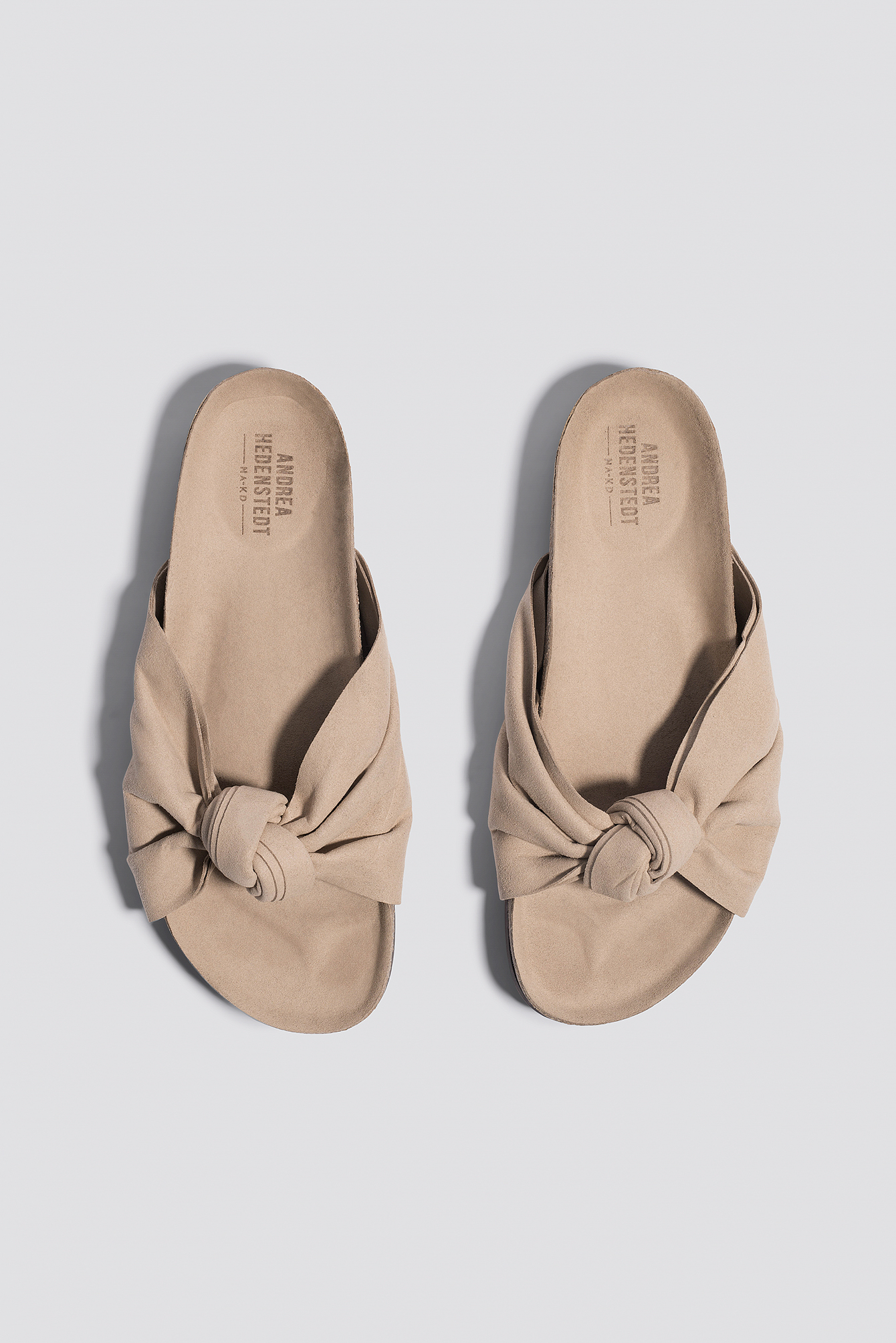 Front Bow Slippers NA-KD.COM