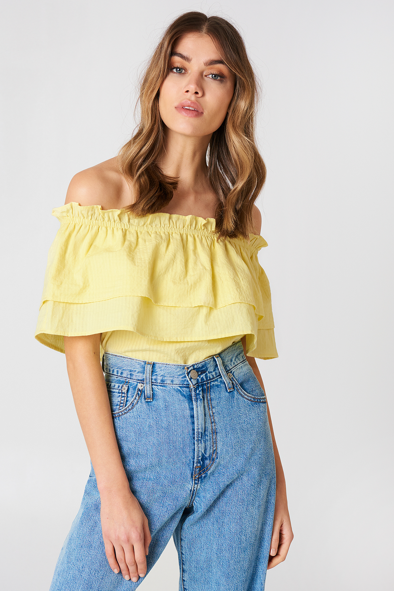 Off Shoulder Layared Top