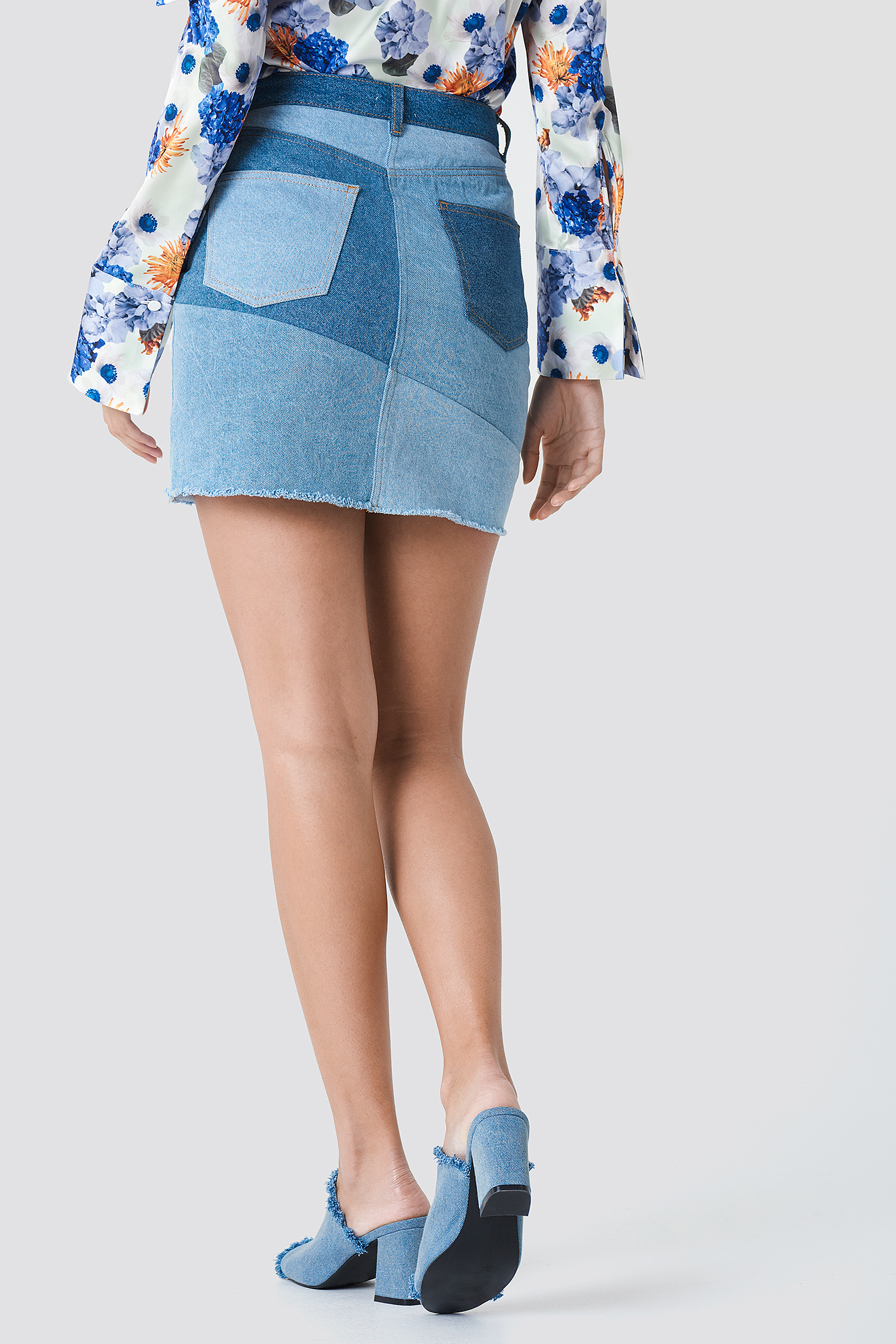 Re Done Denim Skirt NA-KD.COM