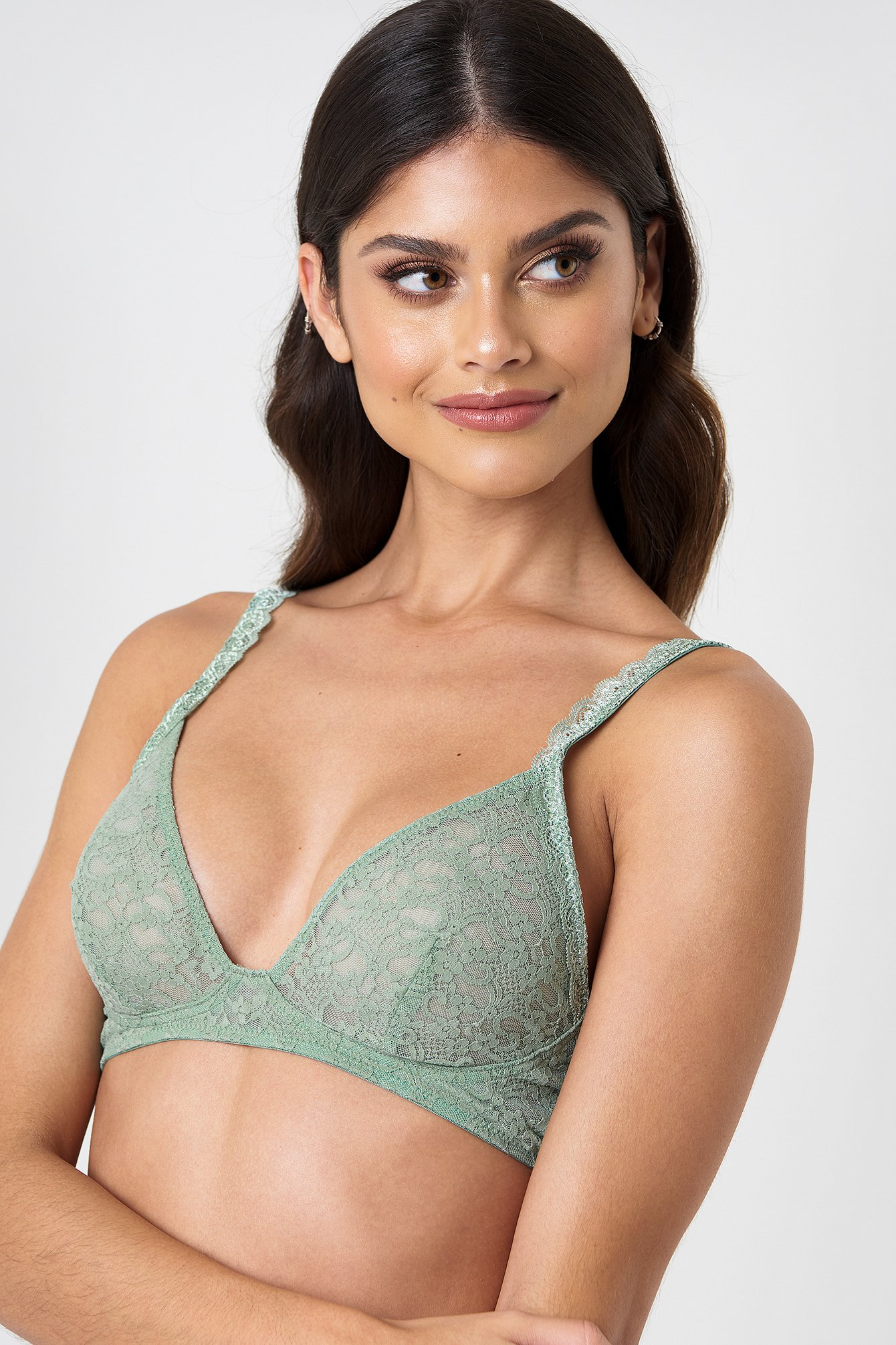 Scalloped Lace Bra NA-KD.COM