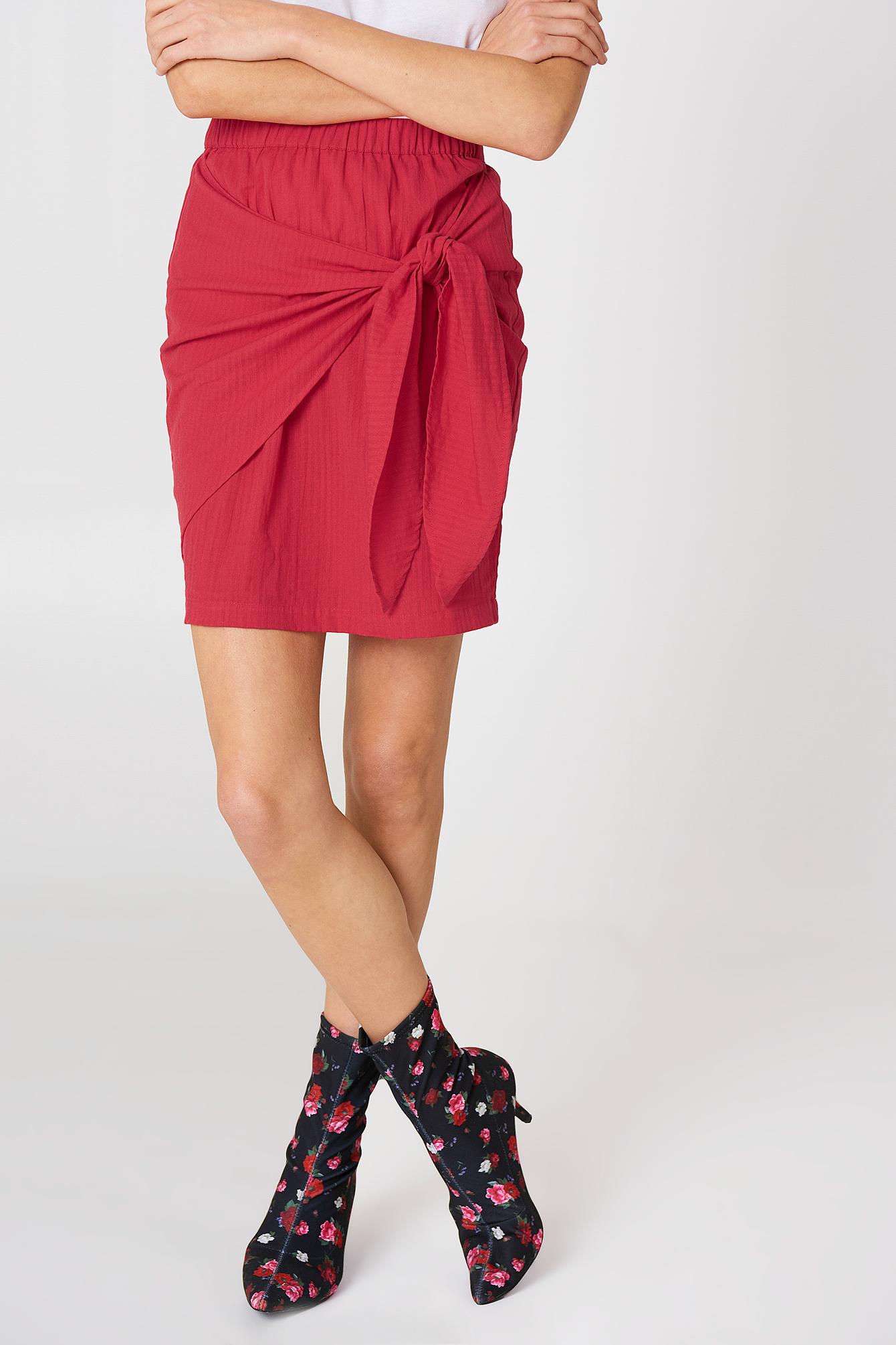 Side Knot Skirt NA-KD.COM
