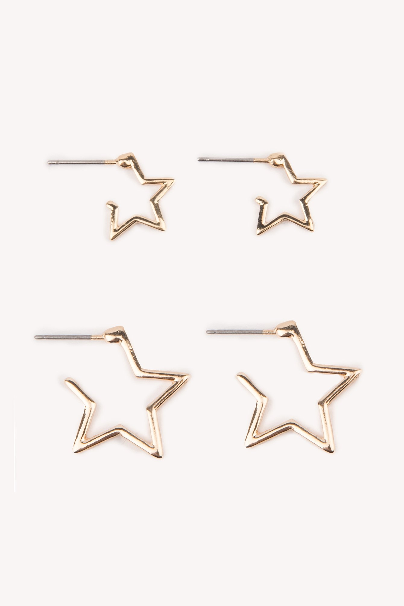 Star Set Earrings NA-KD.COM