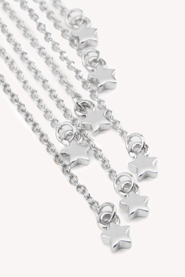 Star Tassel Earring Silver
