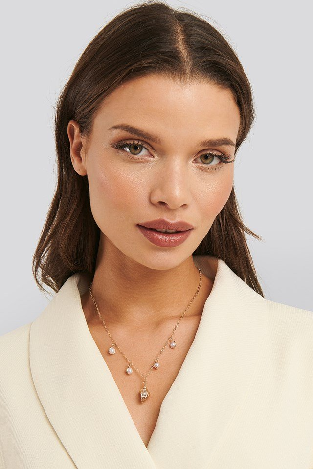 Anette Hovland Pedant Necklace Gold