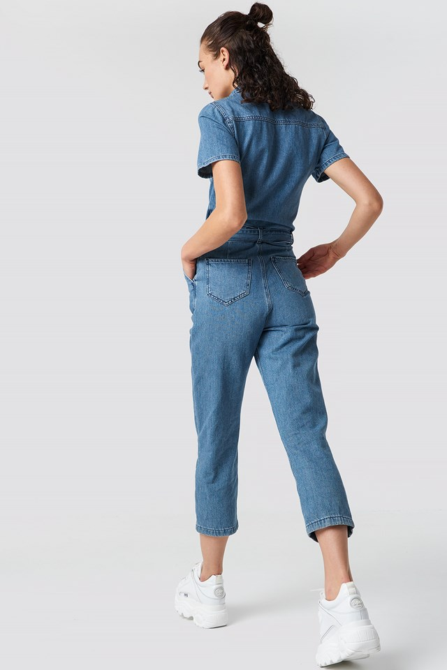 Denim Jumpsuit Blue
