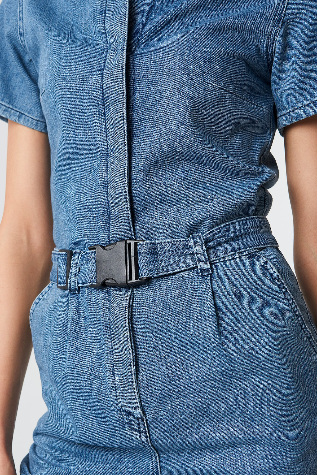 Denim Jumpsuit NA-KD.COM
