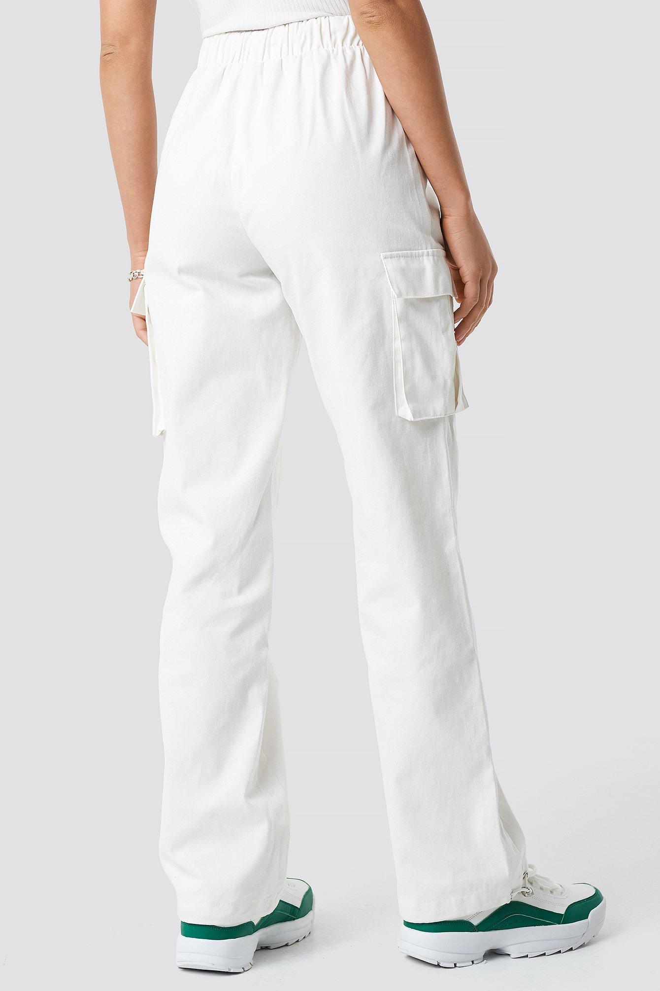 Drawstring Cargo Pants NA-KD.COM